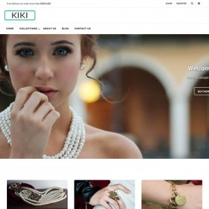 Kiki Shopify theme